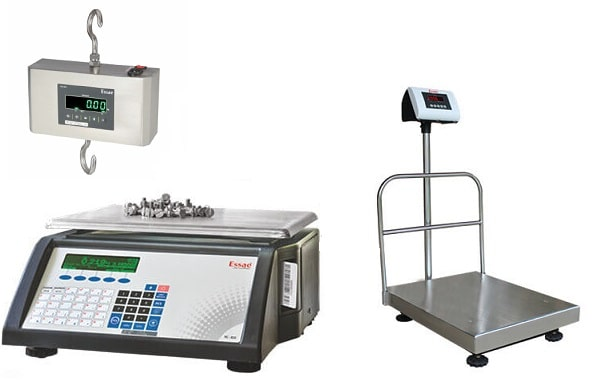 electronic weighing scale balance system